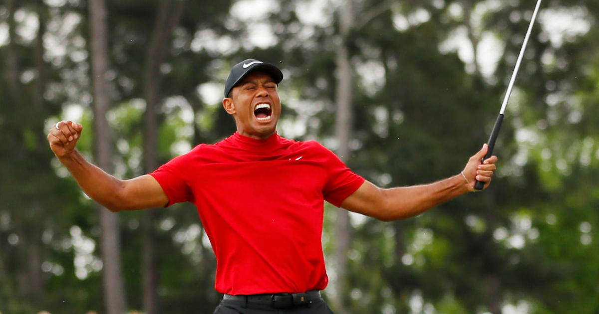 c69274d9fa902 Tiger Woods 2019 comeback: Nike shares rise after Woods' Masters win ...