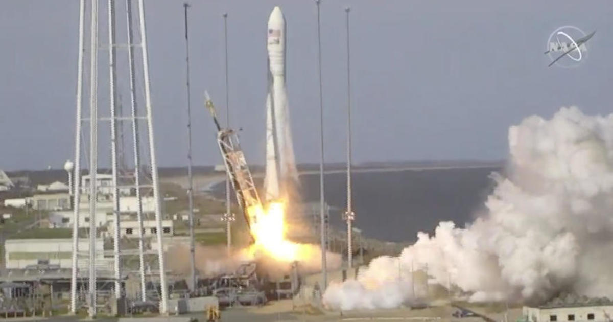 Antares rocket launch today: Cygnus cargo ship launches from
