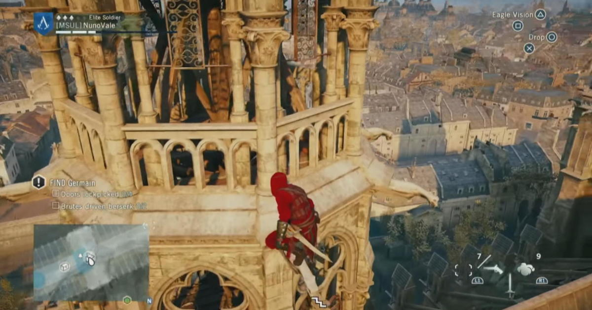"Video game ""Assassin's Creed"" could play a role in Notre Dame Cathedral's restoration"