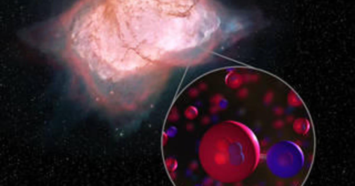 NASA announces discovery of universe's very first type of molecule