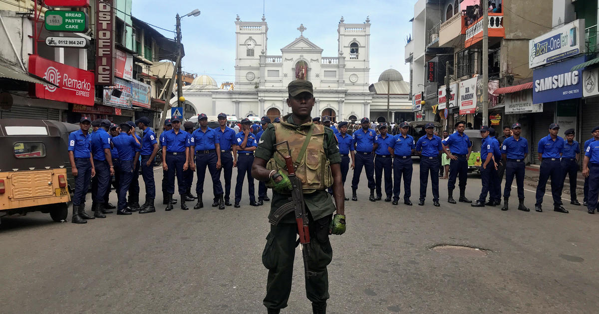 cbsnews.com - At least 6 blasts, including several at churches, rock Sri Lanka on Easter Sunday