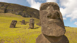 Easter Island's moai statues