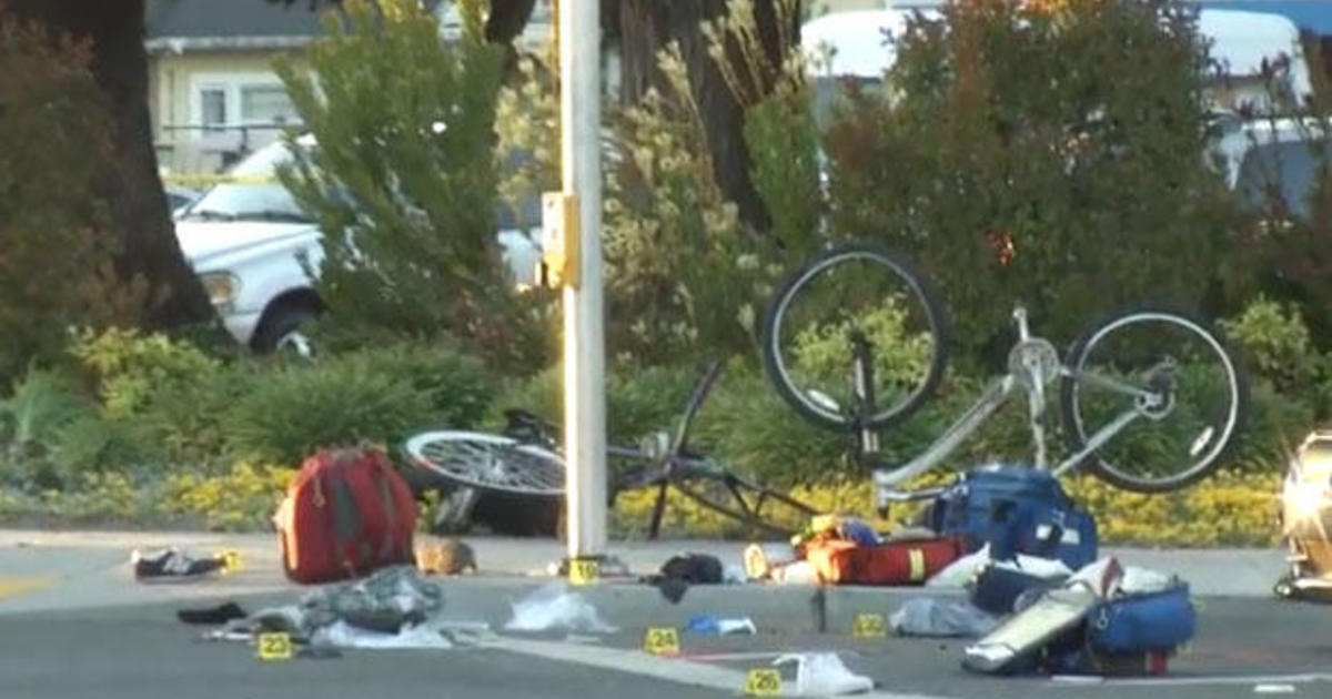 794eabd82d7ae2 Sunnyvale, California: Car rams into 8 people at intersection, possibly on  purpose - CBS News