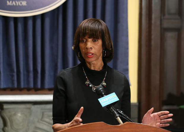 Catherine Pugh: FBI raids Baltimore mayor's home over book scandal