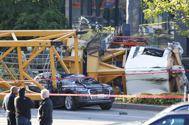 Fallen crane in South Lake Union kills four, including Seattle Pacific student