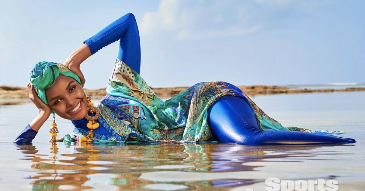 bf967541770 Sports Illustrated Halima Aden  Muslim-Somali model