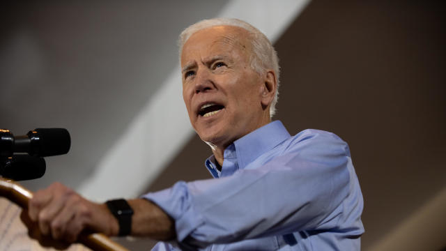 Former Vice President Joe Biden Campaigns In Pittsburgh