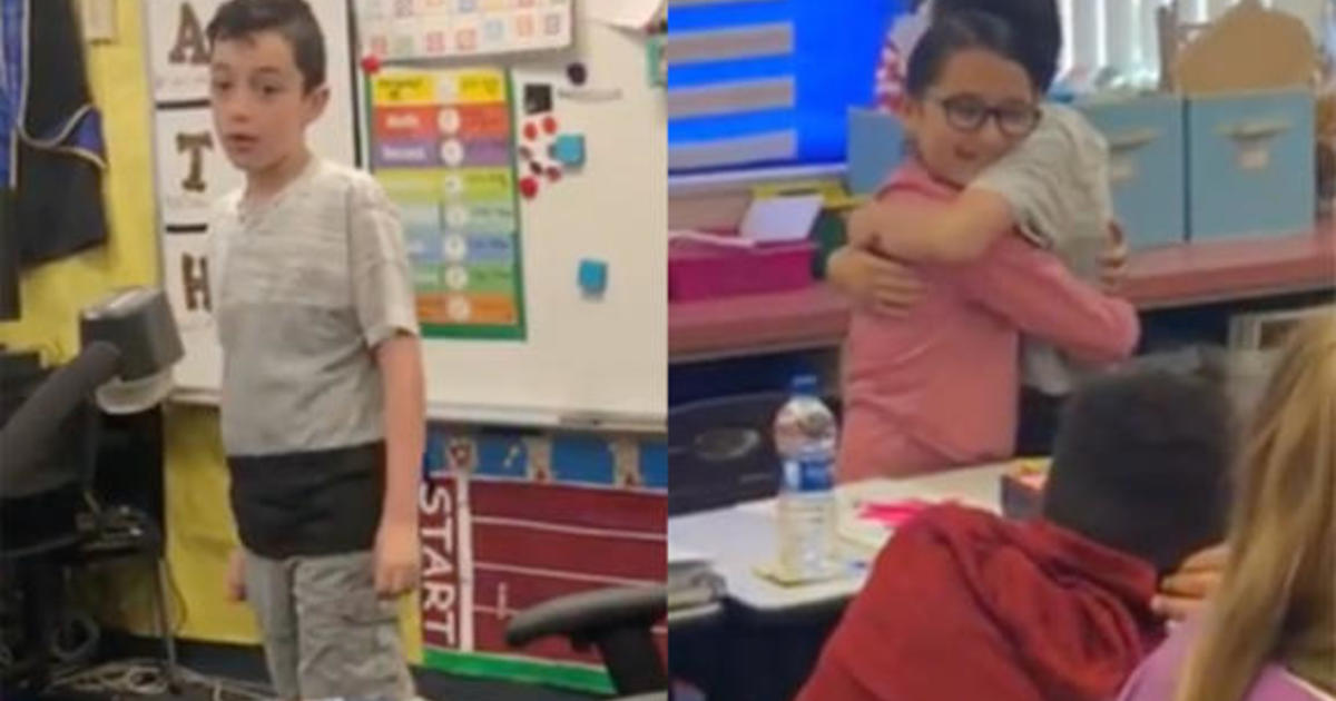 4th-grader opens up to classmates about autism in viral video