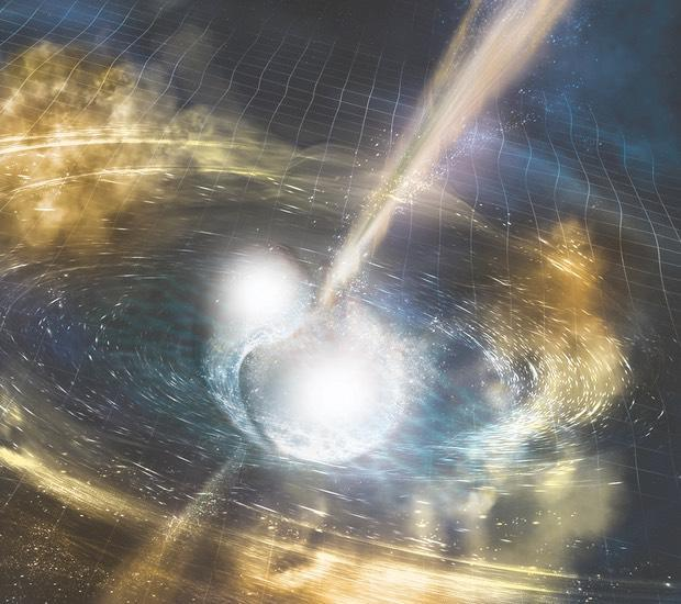 Scientists spot hints of black hole swallowing neutron star for first time