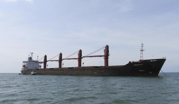 US North Korea Coal Ship