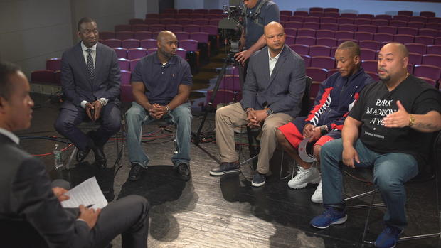 The Central Park Five, wrongly convicted as teenagers for a crime