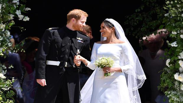 PrinceHarryMarriesMs.MeghanMarkle-Windsor Castle
