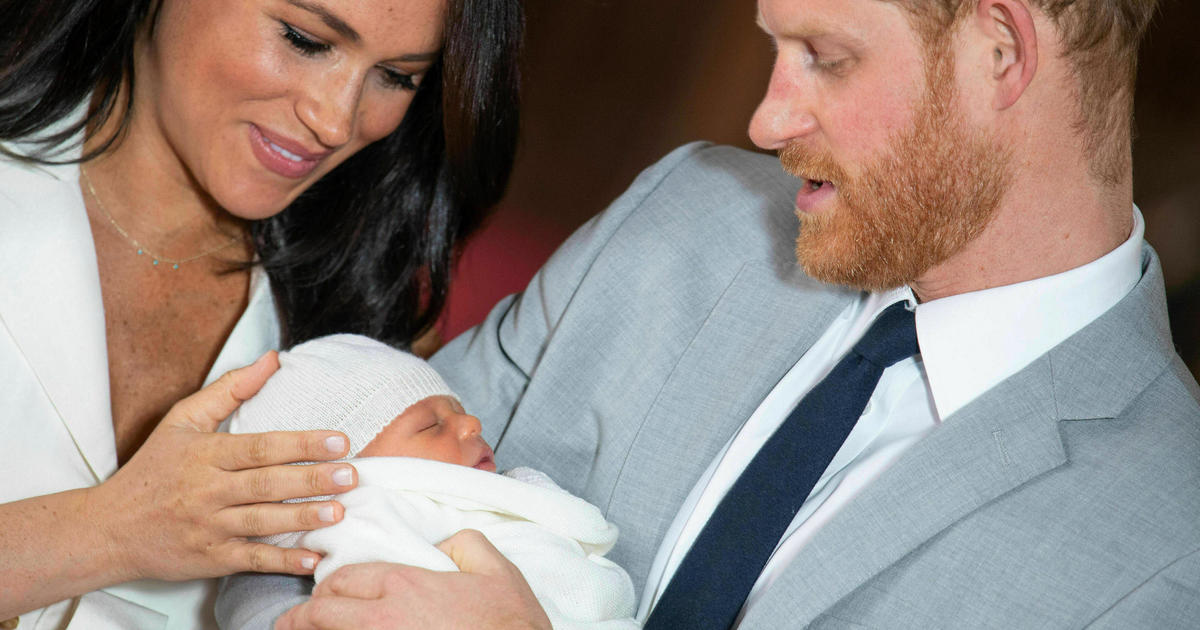 8ec5ca4d04 Royal Baby Archie: Meghan Markle's close friends open up to CBS News' Gayle  King in