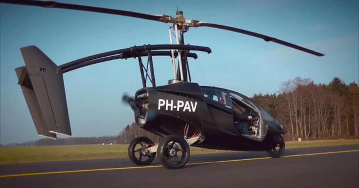 Flying cars are finally taking off
