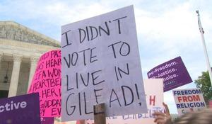 State abortion bans spark nationwide protests