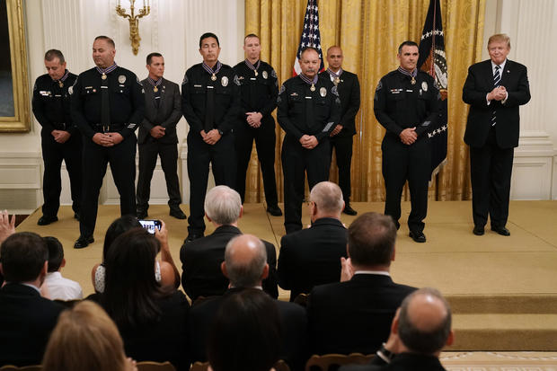 Donald Trump — Public Safety Officer Medal of Valor