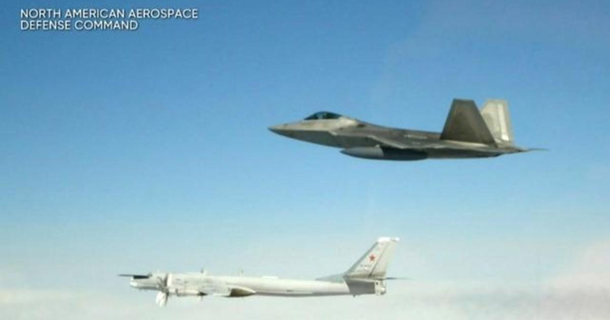 U S  fighter jets intercept Russian bombers - CBS News
