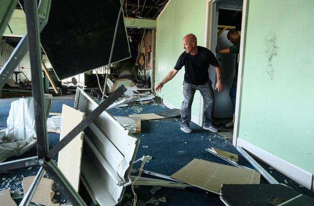 Tornado Causes Extensive Damage In Jefferson City, Missouri