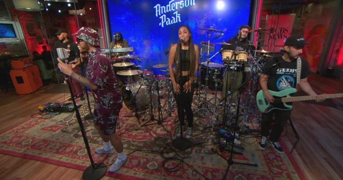 """Saturday Sessions: Anderson .Paak performs """"Make It Better"""""""