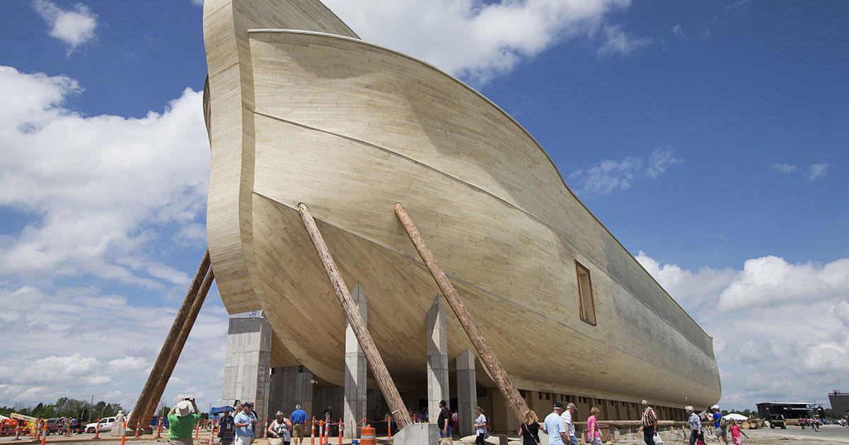 Noah's Ark Encounter: Kentucky attraction sues insurance company over damage caused by heavy rains