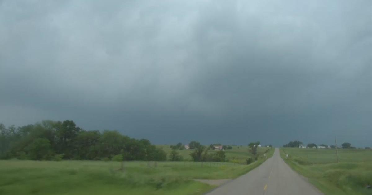 Kansas City Tornado Large And Dangerous Tornado Touches