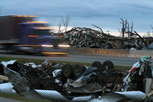Tornado-Ravaged Communities Deal With Major Devastation After Storms