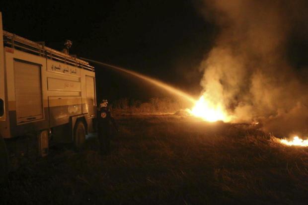 Mideast Burning Crops