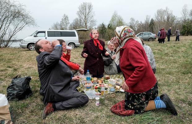 BELARUS-RELIGION-RADUNITSA-EASTER-CHERNOBYL