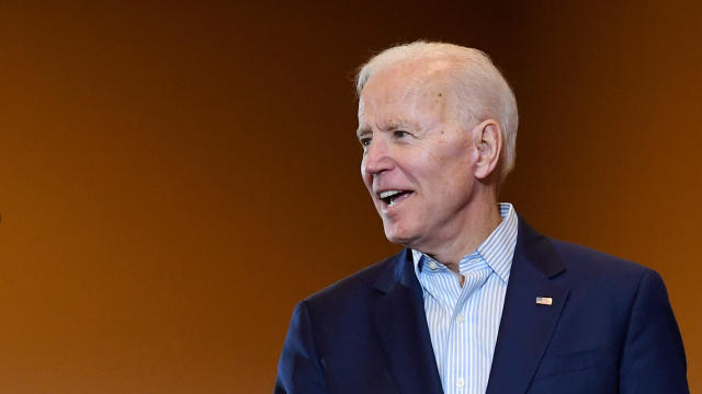 Joe Biden Takes His Presidential Campaign To Nevada