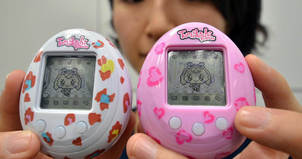 New Tamagotchi is larger, full-color and retails for $60