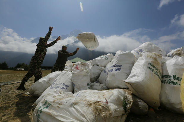 Mount Everest trash: 24,000 pounds of garbage were just removed from Mount Everest, leading to the discovery of four dead bodies