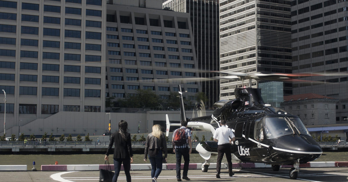 Uber helicopter: NYC to JFK in 8 minutes through new Uber Copter