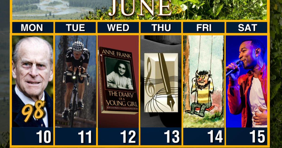 Calendar: Week of June 10