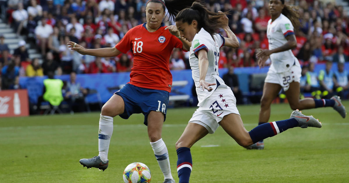 usa vs chile today 2019 women s world cup highlights score next game schedule and thailand woman s soccer team scores first goal updated cbs news