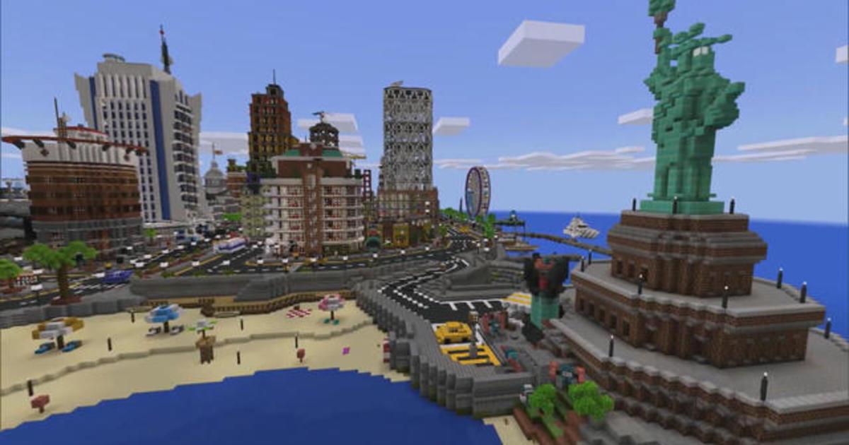 Minecraft, a virtual blockbuster