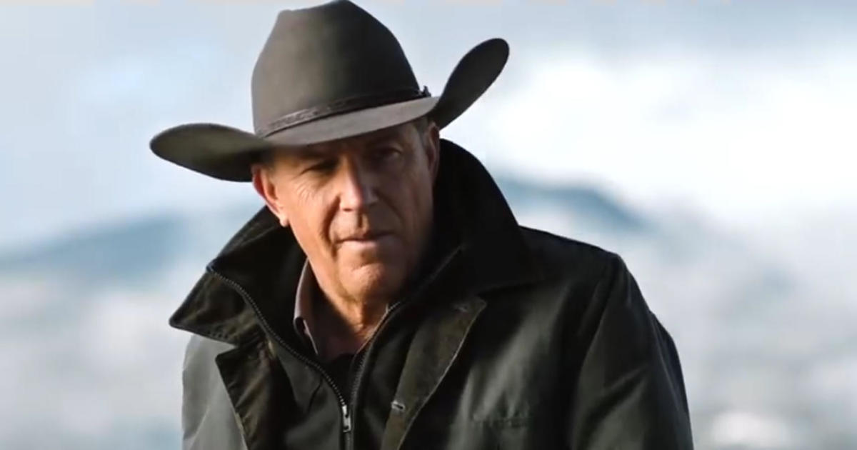 Kevin Costner in the modern-day western