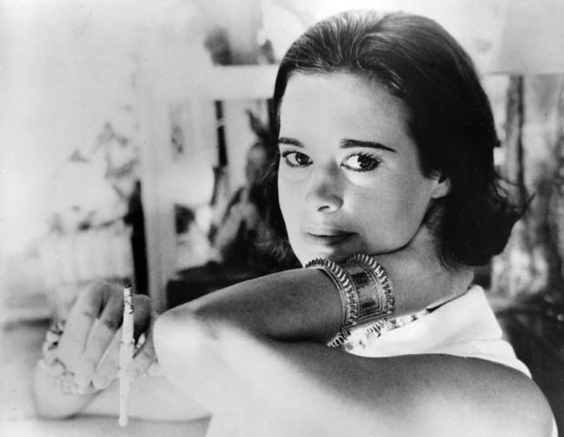 ​Railroad heiress Gloria Vanderbilt Cooper is seen in a Jan. 4, 1964, photograph.