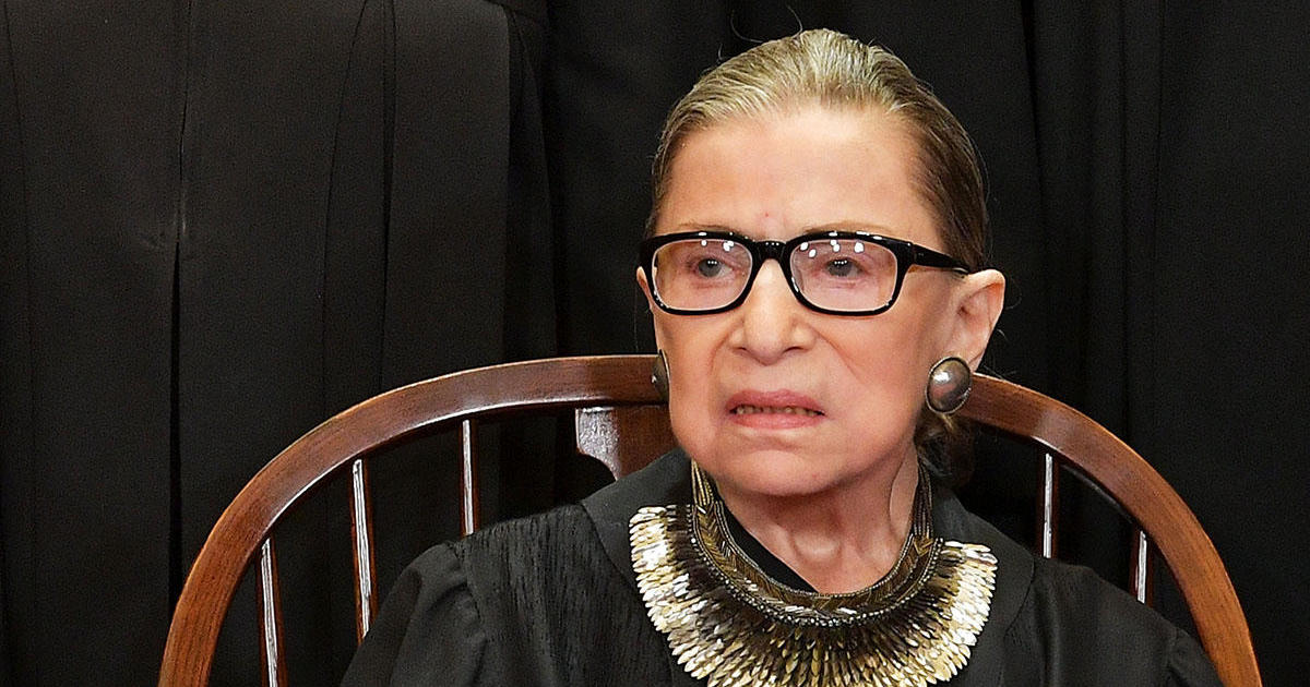 Ruth Bader Ginsburg cancer: Ruth Bader Ginsburg reveals she is