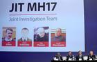 Investigators present latest findings in MH17 downing, in Nieuwegein