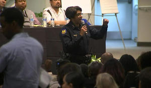 Phoenix residents unleash their anger on police during community meeting