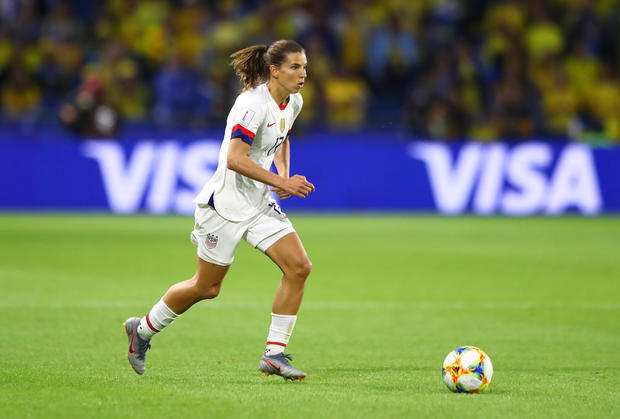 Women's World Cup 2019 -- U.S. beats Sweden