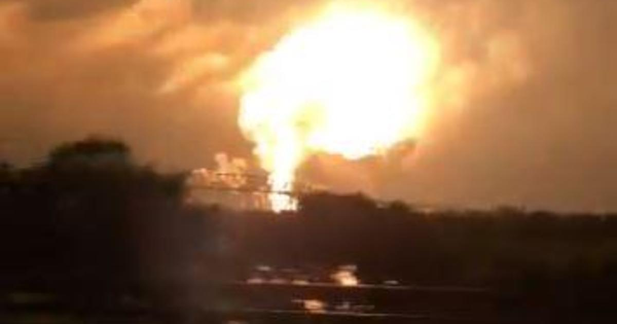 Refinery explosion: Fire sets off series of explosions at