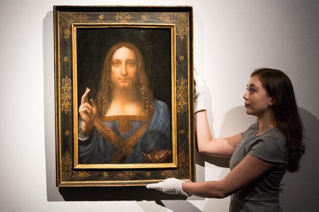 Leonardo da Vinci's 'Salvator Mundi' Christie's