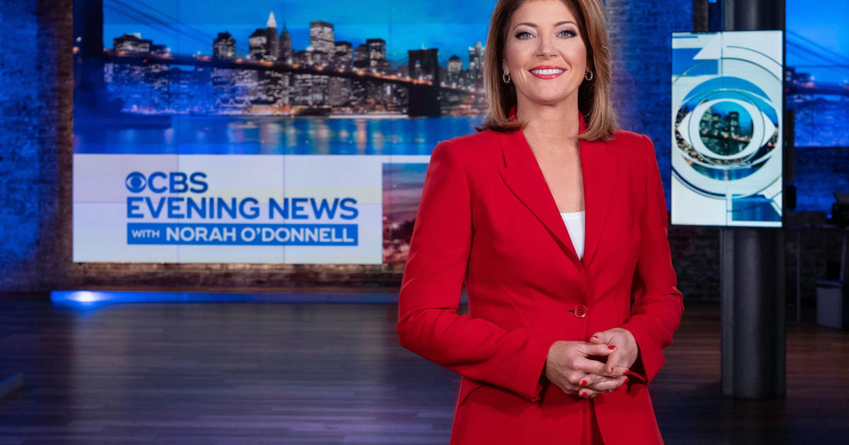 """""""CBS Evening News with Norah O'Donnell"""" to debut July 15"""