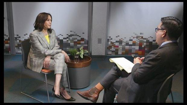 Full transcript: Ed O'Keefe interviews Sen. Kamala Harris