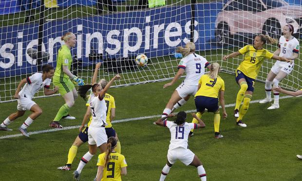 France US Sweden WWCup Soccer