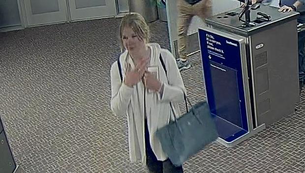 Mackenzie Lueck, missing University of Utah student, seen in new photos at Salt Lake City International Airport