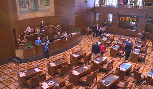 More than 100 Oregon bills at risk as GOP state senators stay in hiding