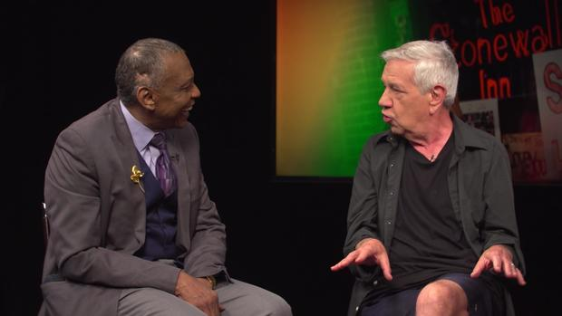 "Stonewall Inn 50th anniversary Martin Boyce and Charles ""Val"" Harris interview"
