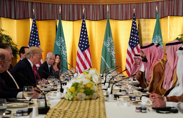 "Trump calls Saudi crown prince Mohammed bin Salman a ""friend of mine"""
